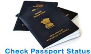 Check Passport Status India